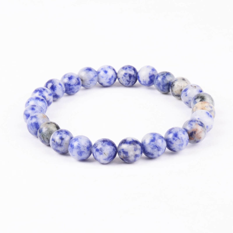 Creativity And Wisdom Bracelet | Nahcolite Stones Beads