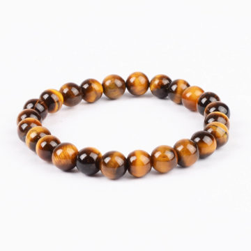 Strength and Stealth Bracelet | Tiger Eye Stone Beads