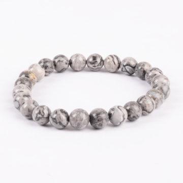 Stability Bracelet | Picasso Jasper Stone Beads