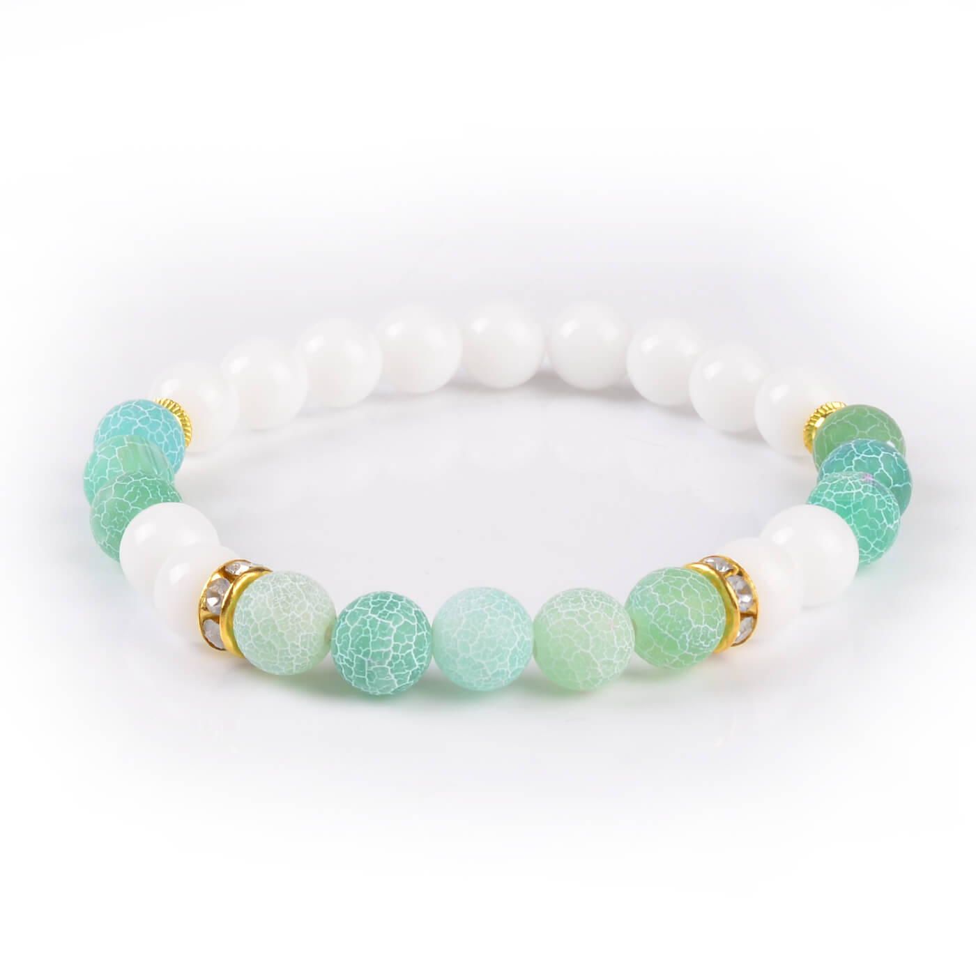 stone bracelet fashion single bracelets online detail store green jewellery