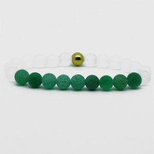 Summer Vibes Bracelet | White Bead