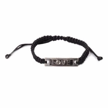 Silk Threaded Adjustable Love Bracelet