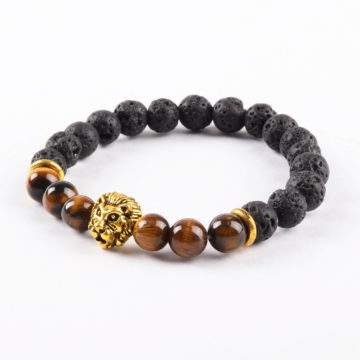 Golden Lion Spiritual Harmony Bracelet- Tiger Eye