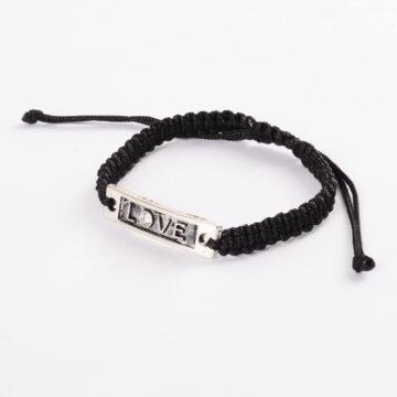 Silk Threaded Adjustable Love Bracelet 2